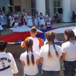 18 июня краевой фестиваль «Нам жить в России» проходит в городе Курганинске