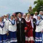 8 июня в Атамани прошел Первый Открытый фестиваль казачьих традиций «Казачий берег»